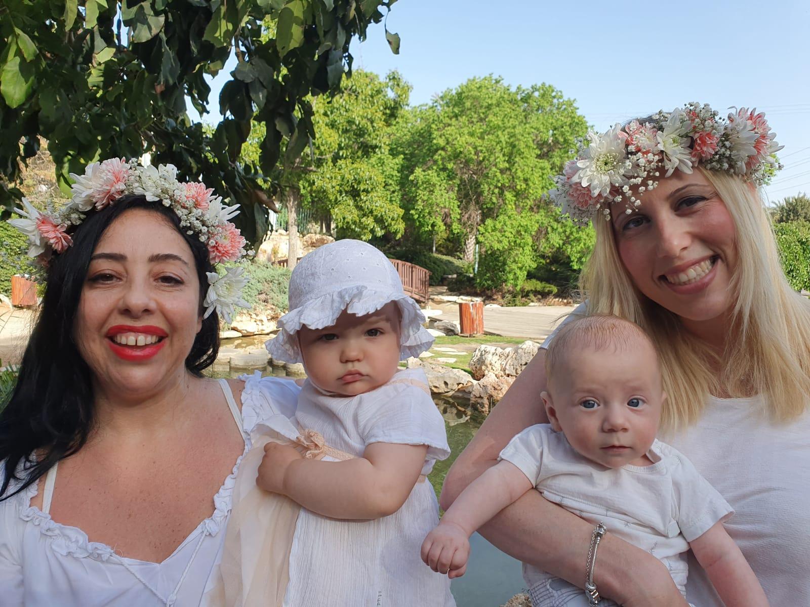 ביכורי תינוקות בחולון צילום-רשת קהילה ופנאי