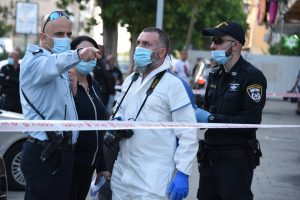 זירת רצח משטרה צילום דוברות משטרת ישראל