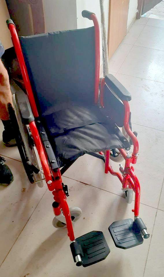 כיסא הגלגלים שנתרם (1)