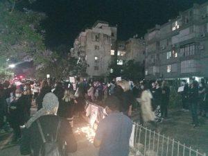 עצרת מחאה הפגנה צילום בובה לוי