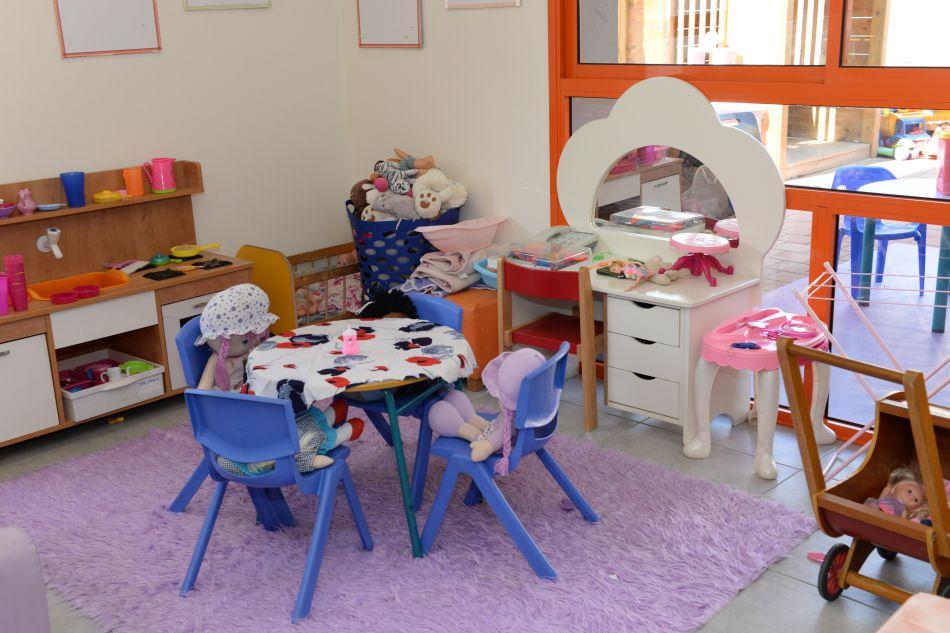 פינת משחק בגן ילדים עירוני בחולון. צלם-טל קירשנבאום