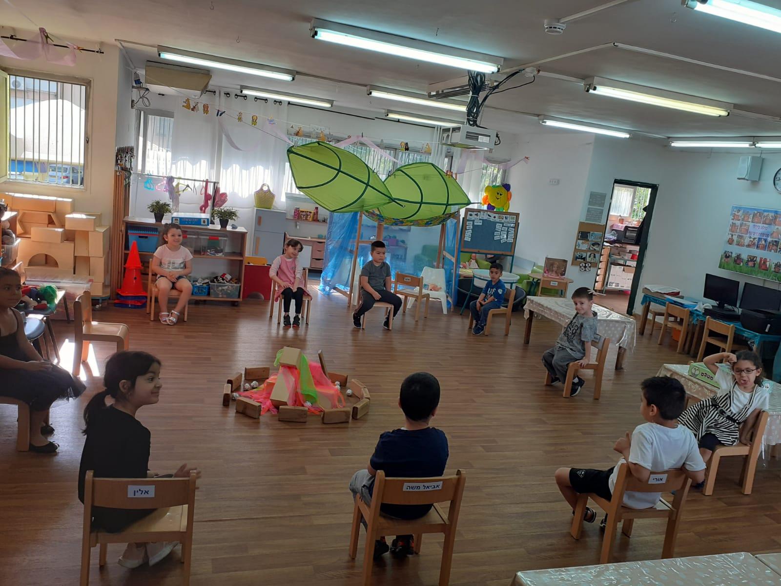 פעילות בגני ילדים עירוניים בחולון בתקופת הקורונה צילום-עיריית חולון (1)