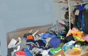 פריצה דירה בגדים צילום דוברות משטרת ישראל