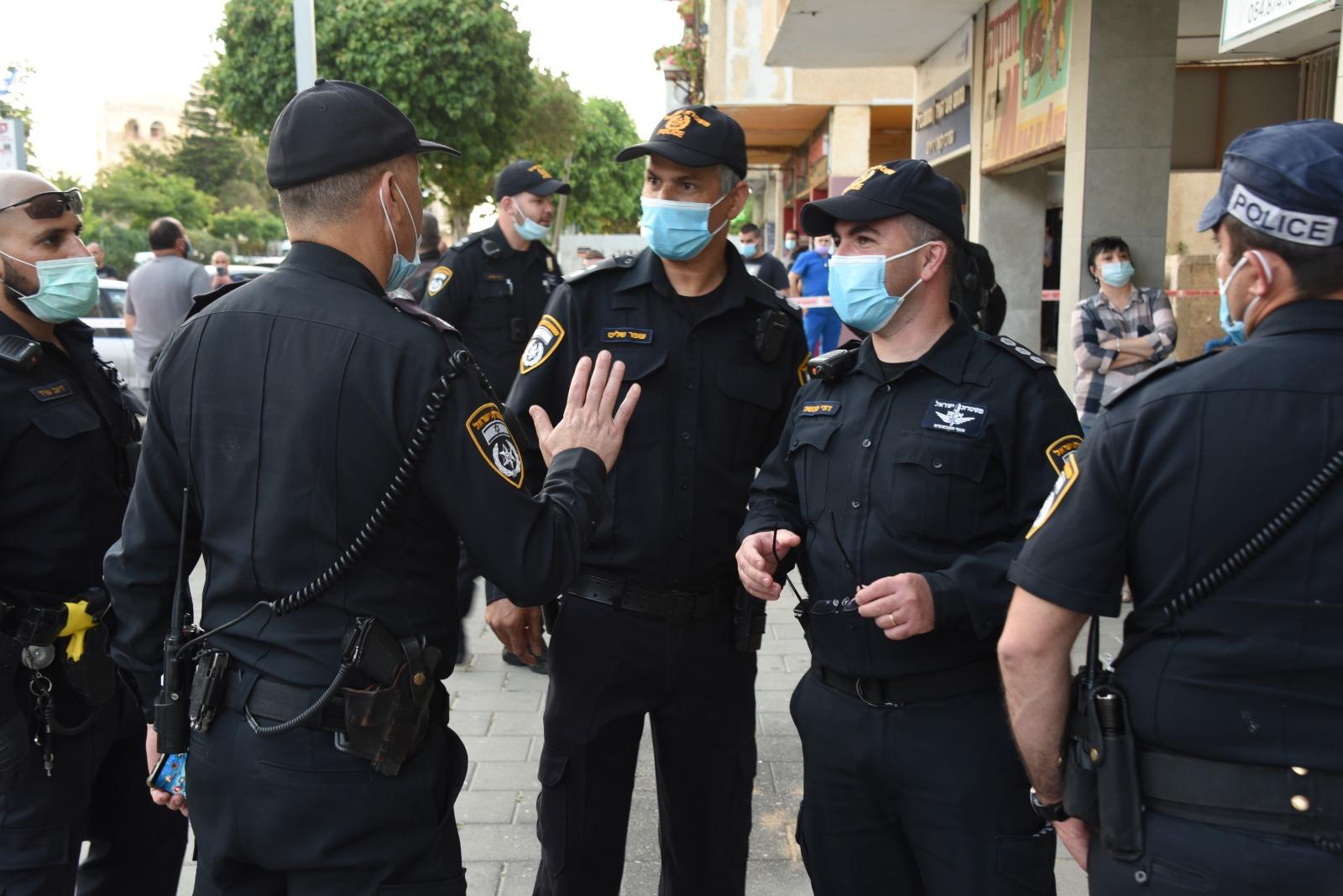 שוטרים צילום דוברות משטרת ישראל