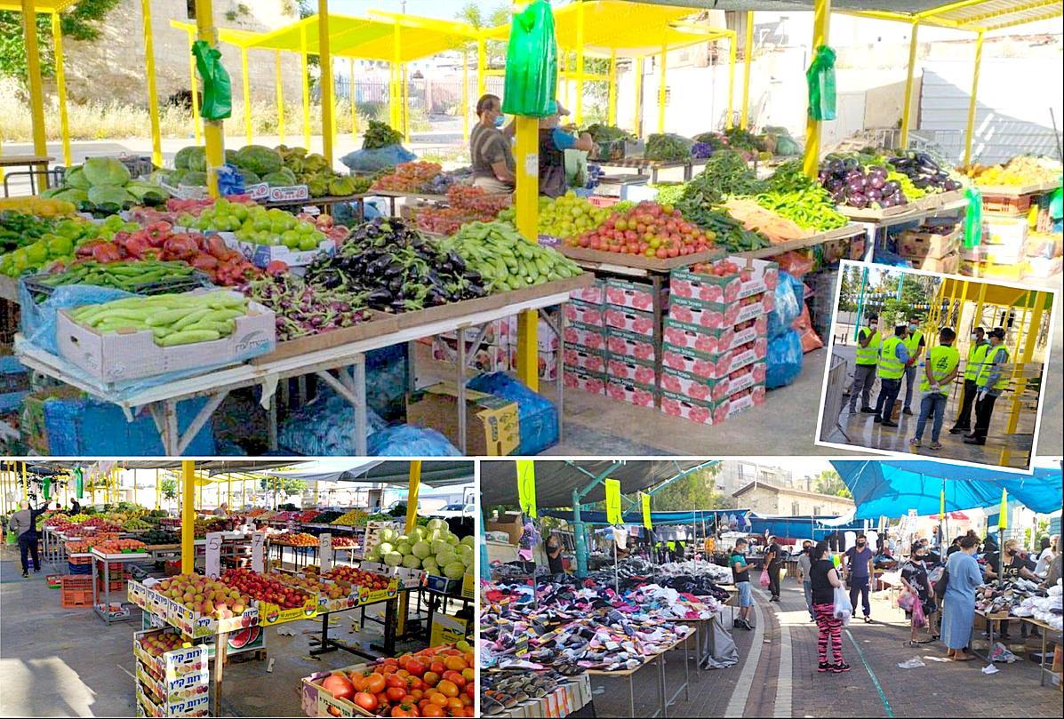 שוק לוד בעיר העתיקה ושוק יום שישי ברחבת העירייה נפתחו מחדש