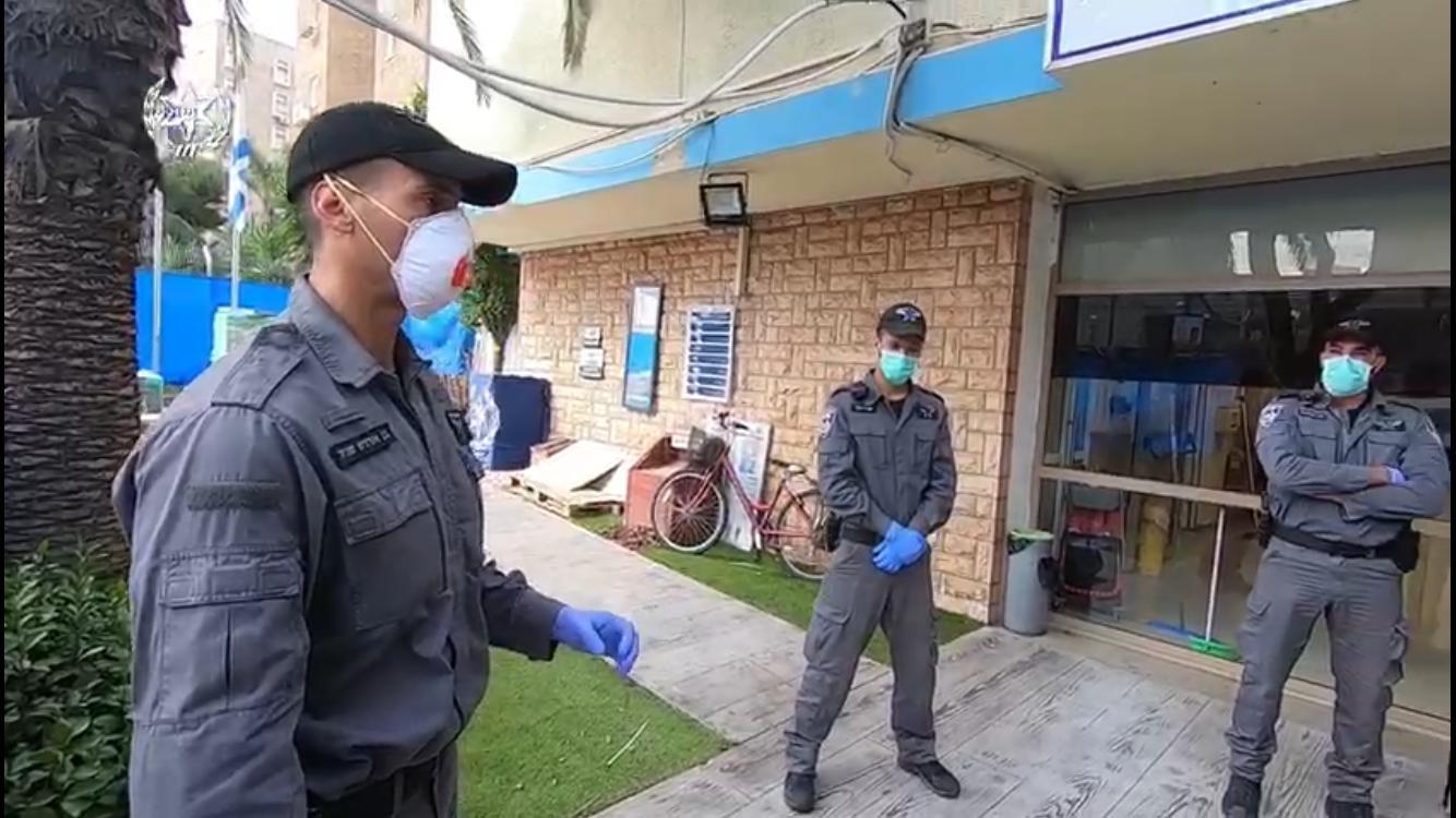 פעילות אכיפת המשטרה בבקעת אונו. צילום: דוברות המשטרה