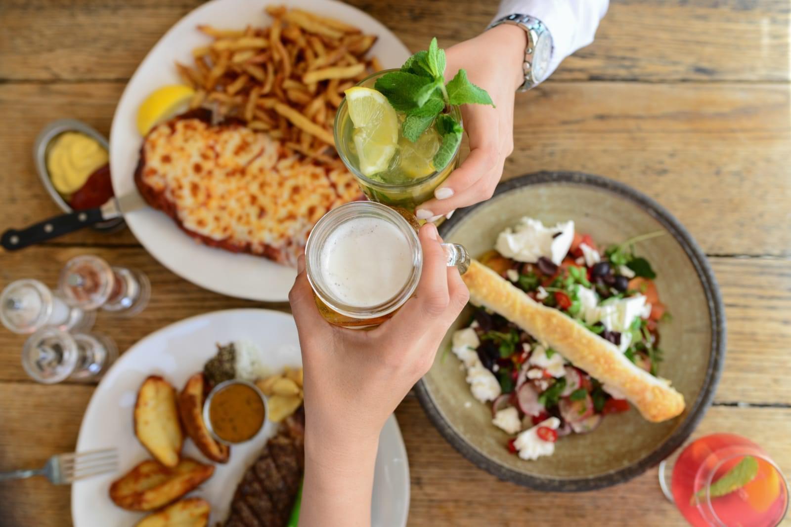 ארוחה איטלקית. צילום: לינה מיארה