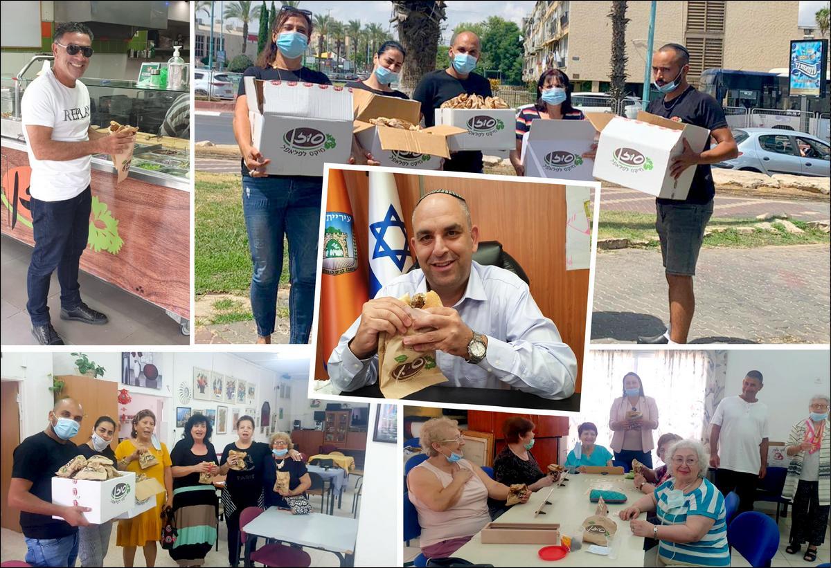 הצלחה למיזם מנת הדגל בלוד בסיוע לעסקים קטנים ולעידוד הקניות בעיר (1)