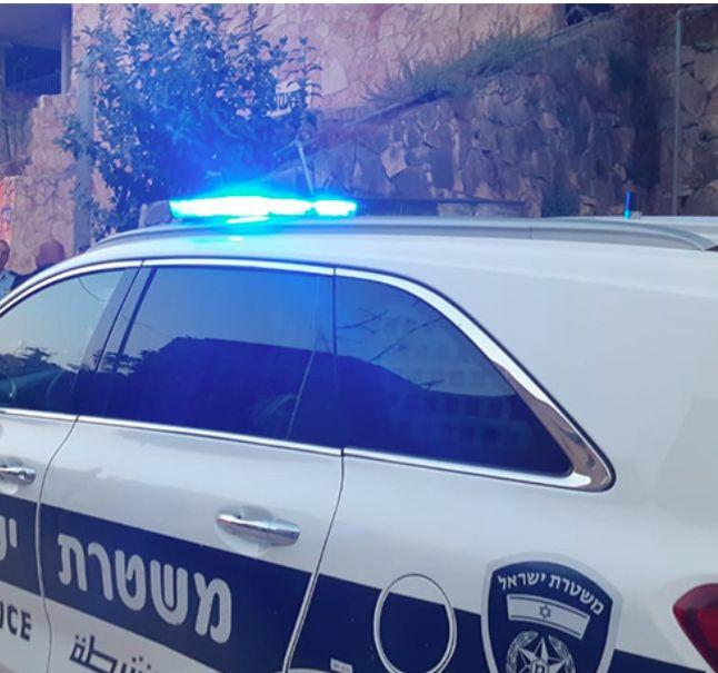ניידת משטרה צילום דוברות משטרת ישראל