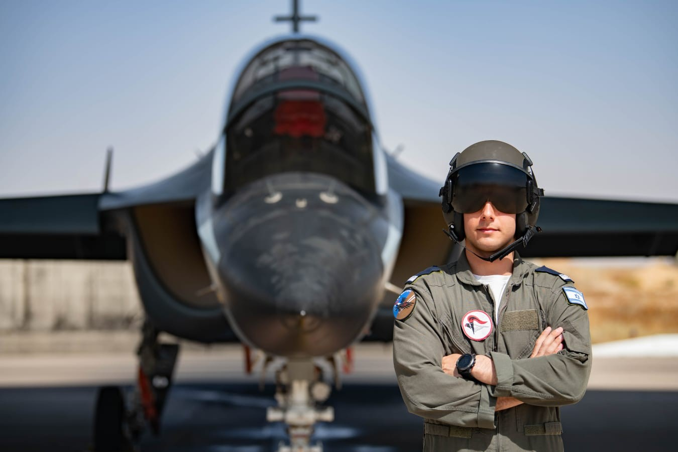 סרן א חולון מטוס טייס צילום דובר צהל