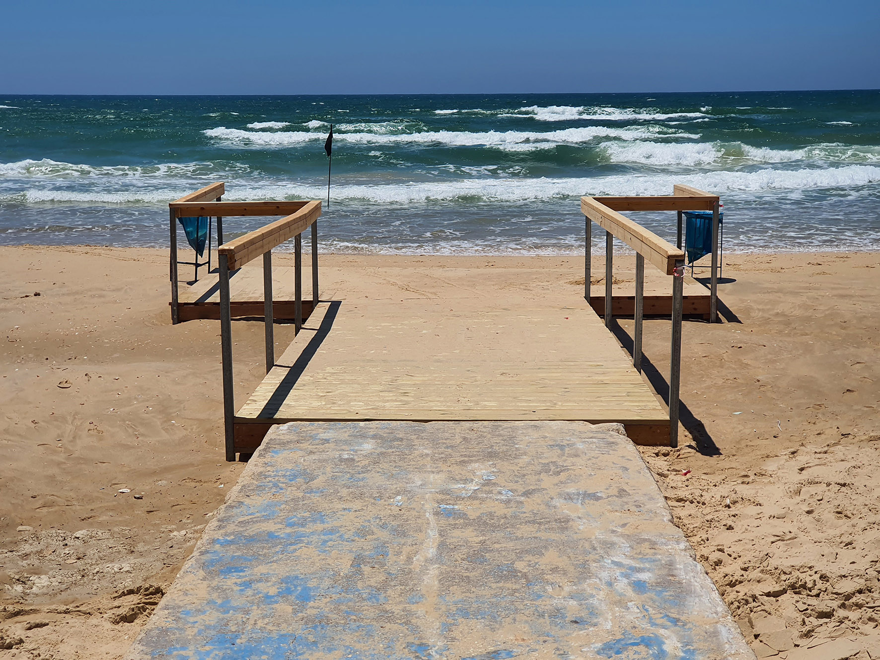 שביל גישה לחוף הים. צילום: דוברות העירייה