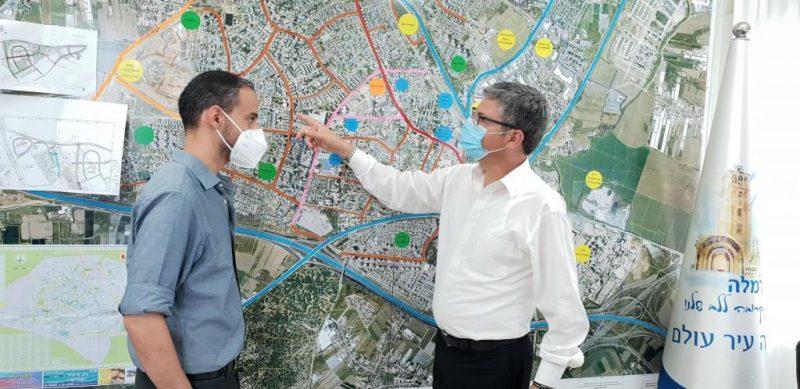 תכנון ההתחדשות העירונית של שכונת בן גוריון רמלה