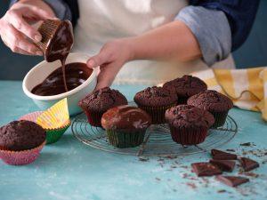חברת כרמית חולקת מתכון מאפינס שוקולד ומרשמלו