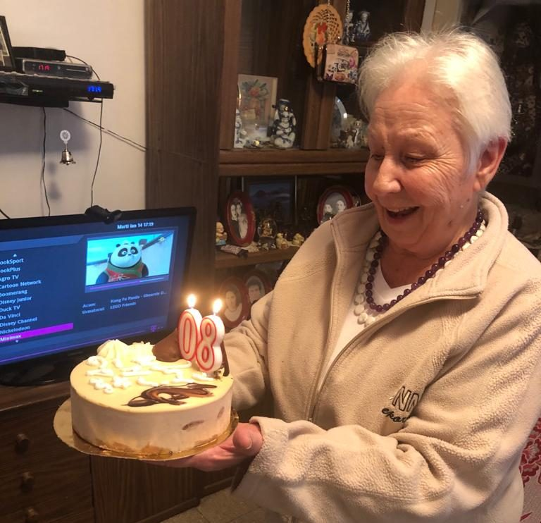 פרידה ביום הולדתה ה-80- בינואר השנה