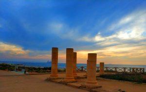 קיסריה בשקיעה. צילום: עידן יצחקיאן