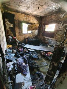 שריפה אש צילום דוברות כבאות והצלה