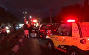 תאונה רכב אופנוע תאונת דרכים צילום תיעוד מבצעי מדא