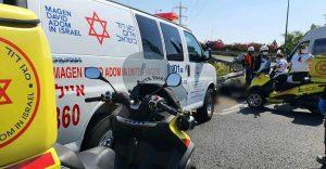 תאונה תאונת דרכים צילום תיעוד מבצעי מדא