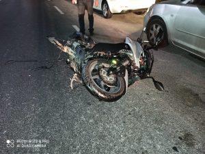 תאונת אופנוע צילום דוברות איחוד הצלה