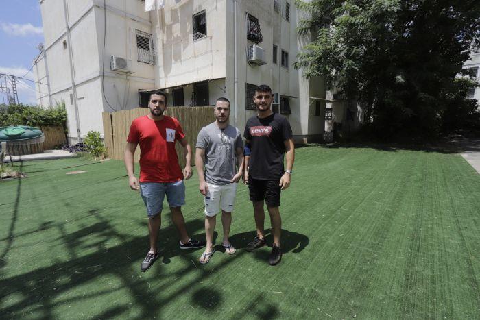 אלירן, דניאל ושרון. צילום: איתן אלחדז ברק