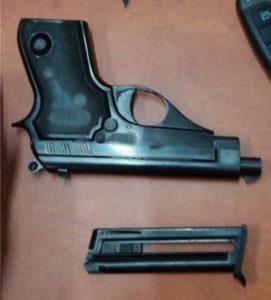 אקדח מחסנית צילום דוברות משטרת ישראל
