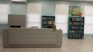 הספרייה המחודשת בבית הספר אילון. צילום-עיריית חולון (1)