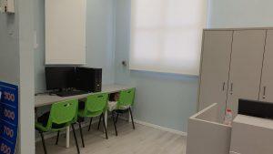 הספרייה המחודשת בבית הספר אילון. צילום-עיריית חולון (2)