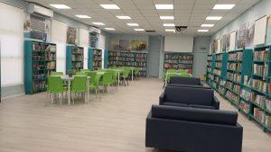 הספרייה המחודשת בבית הספר אילון. צילום-עיריית חולון (3)