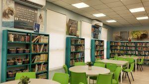 הספרייה המחודשת בבית הספר אילון. צילום-עיריית חולון (5)