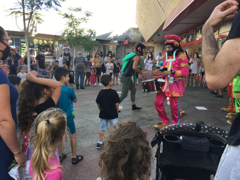 הפנינג חגיגה ילדים צילום עיריית חולון