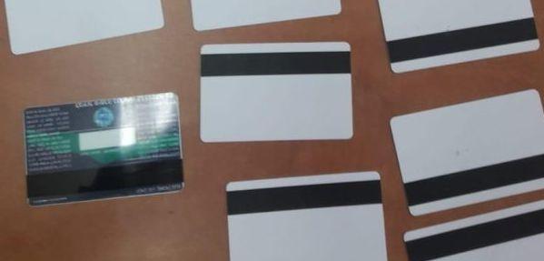 זיוף כרטיס אשראי צילום דוברות משטרת ישראל