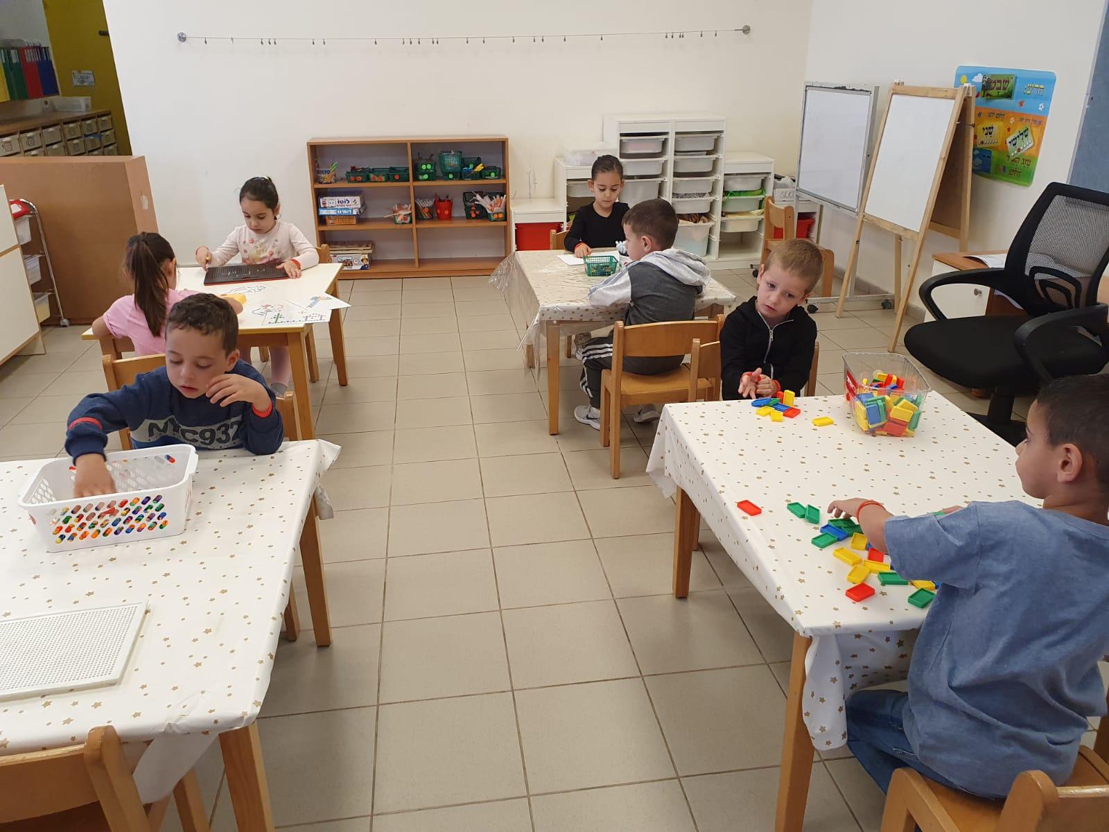 פעילות בגני ילדים עירוניים בחולון בתקופת הקורונה צילום-עיריית חולון (2)