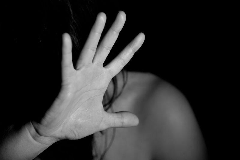 אשה מוכה אילוסטרציה
