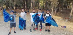 ישראלים יפים ביער בן שמן