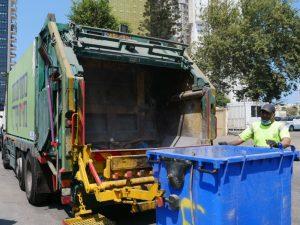 משאית זבל אשפה ניקיון תברואה שפע צילום דוברות עיריית בת ים