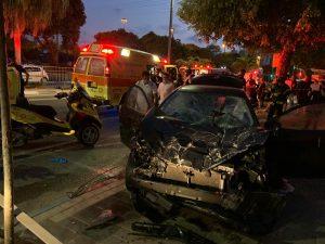 תאונה תאונת דרכים רכב צילום ליאור פז תיעוד מבצעי מדא