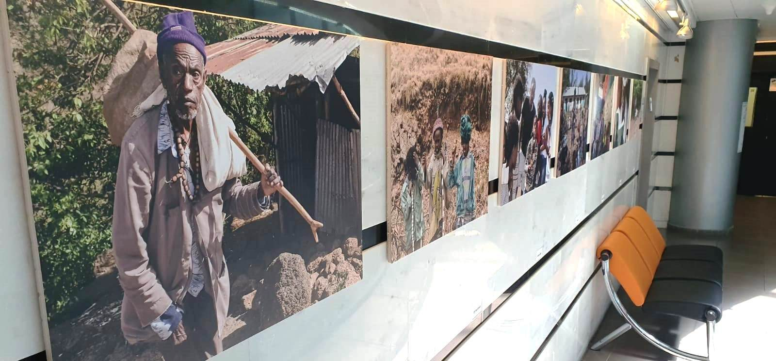 התערוכה בבניין העירייה