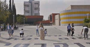 כיכר המדיטק הפכה באופן סמלי לכיכר רבין, 2020. צילום-רן יחזקאל (4)