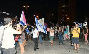 מחאה הפגנה צילום מוטי גולן מחאת כיכר קוגל חולון