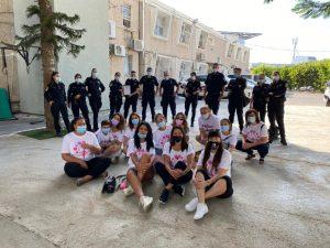 עמותת מעגל נשים וטנג'נט חולון צילום דוברות משטרת ישראל