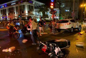 תאונה אופנוע קטנוע צילום נתן רוס דוברות מדא