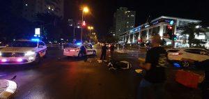 תאונה קטנוע צילום דוברות משטרת ישראל