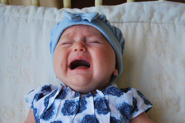 תינוקת בוכה. אילוסטרציה pixabay