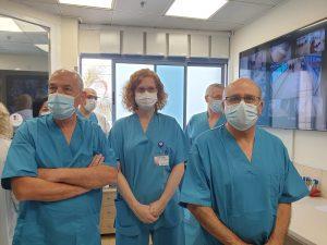חזי לוי ענת אנגל צילום1 המרכז הרפואי וולפסון
