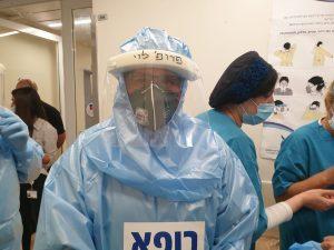חזי לוי קורונה צילום המרכז הרפואי וולפסון