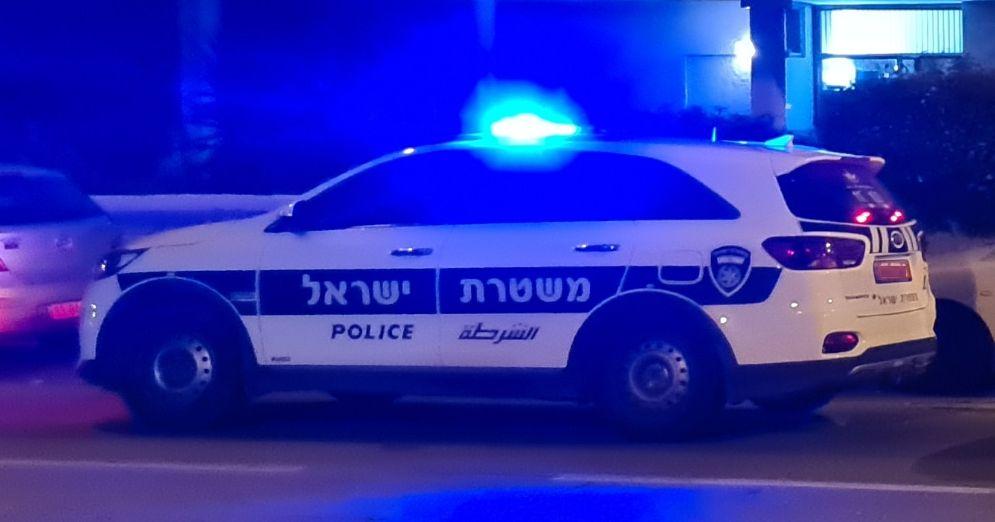 ניידת משטרה צילום רועי אסף