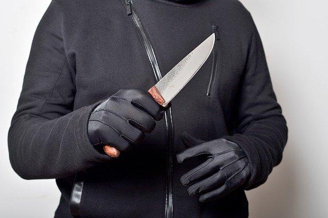 שודד עם סכין אילוסטרציה. קרדיט צילום: pixabay