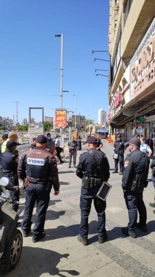 שיטור עירוני פיקוח פקחים שוטרים צילום דוברות עיריית בת ים