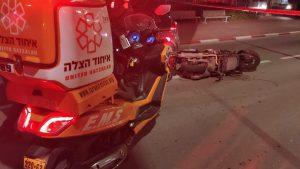 תאונה אופנוע צילום דוברות איחוד הצלה