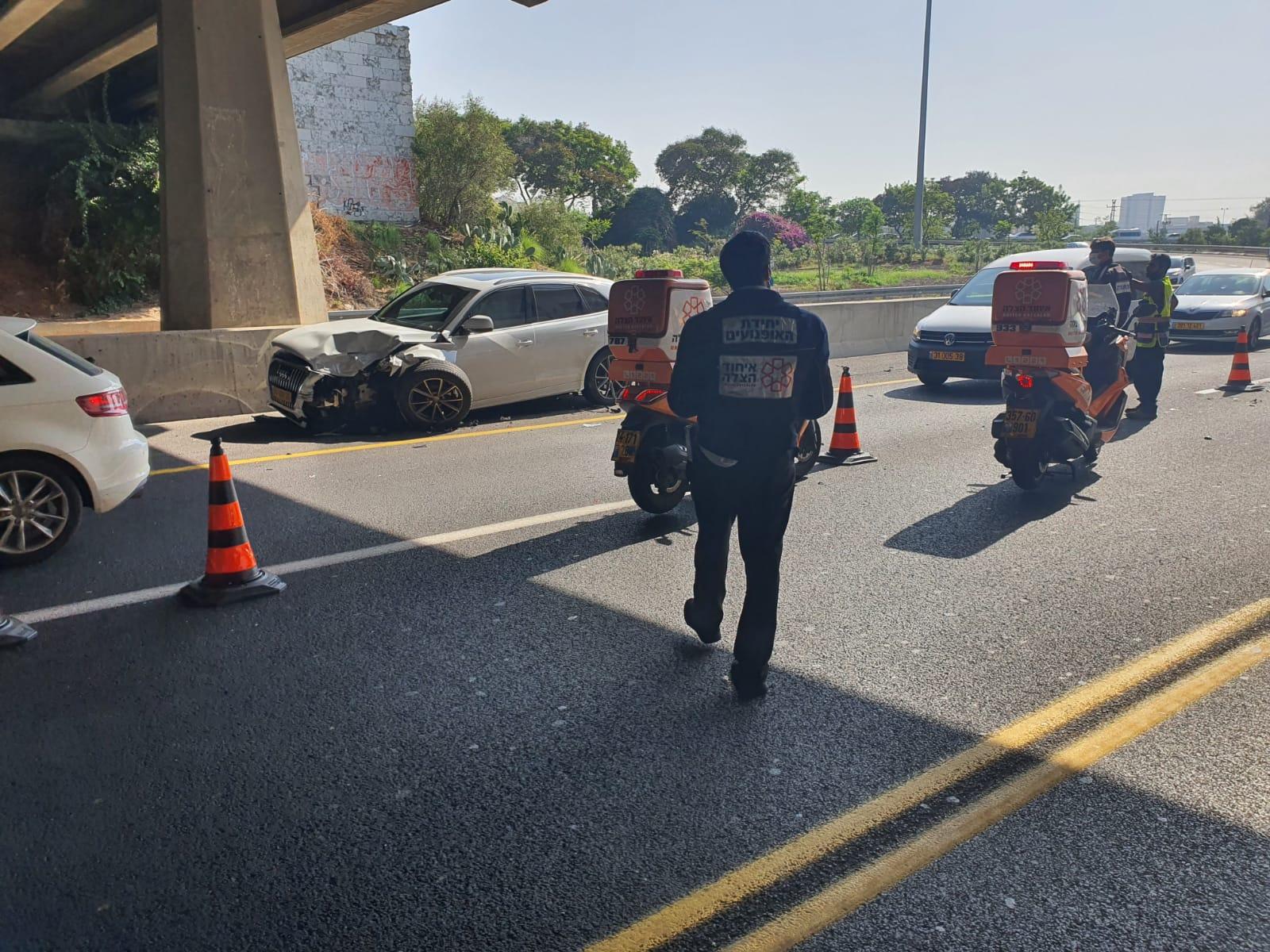 תאונה צילום דוברות איחוד הצלה